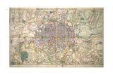 Davies' New Map of London and its Environs  1882