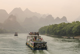 Cruising on the Li River  Guilin  China