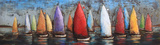 Sailboats in Color