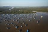 Chong Kneas Floating Village  Tonle Sap Lake  Near Siem Reap  Cambodia