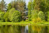 Emajogi River  Tartu  Estonia  Baltic States