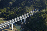 State Highway One at Waiwera Viaduct and Johnstone's Hill Tunnels  North Auckland  New Zealand