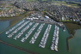 Hobsonville Marina  Waitemata Harbour  Auckland  North Island  New Zealand