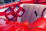 Massachusetts  Cape Ann  Gloucester  Antique Car Show  Car with Fuzzy Dice