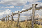 Utah  Manti-La Sal National Forest Old Wooden Fence
