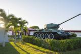 Cuba Matanzas Playa Giron Tank Used in the Bay of Pigs Battle
