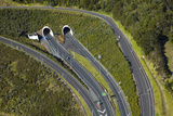 State Highway One at Johnstone's Hill Tunnels  North Auckland  North Island  New Zealand