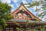 Tokyo  Japan Sensoji Temple at Tokyo's Oldest Temple Built in 645