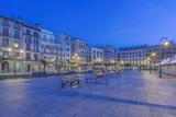 Spain  Pamplona  Plaza Del Castillo at Dawn