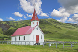 Iceland Reyniskirkja Church Near Black Beach   1929 an Old Wooden Church Religion