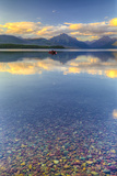 Montana  Glacier National Park Lake Macdonald Landscape
