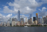New York  New York City Downtown New York Harbor City Skyline with the Freedom Tower
