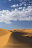 Africa  Morocco  Sahara a Classic Landscape of the Dunes in Erg Chebbi
