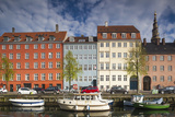 Denmark  Zealand  Copenhagen  Christianshavn Neighborhood  Canal Side Buildings
