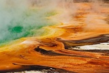 Grand Prismatic Spring  Midway Geyser Basin  Yellowstone National Park  Wyoming