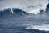 Kai Lenny on Stand Up Paddle Board Surfing Monster Waves at Pe'Ahi Jaws  North Shore Maui
