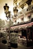 Le Metro Restaurant  Left Bank  Paris  France