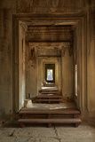 Doorways  Inner Gallery  Khmer Temple  Angkor World Heritage Site  Siem Reap  Cambodia