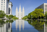 Salt Lake Temple  Temple Square  Salt Lake City  Utah