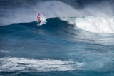 Hawaii  Maui Robby Naish Windsurfing Monster Waves at Pe'Ahi Jaws  North Shore Maui