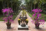 Vietnam  Hue Dieu De Pagoda  Exterior Detail