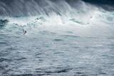 Hawaii  Maui Robby Naish Windsurfing Monster Waves at Pe'Ahi Jaws  North Shore Maui