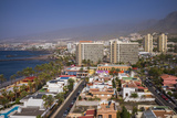 Spain  Canary Islands  Tenerife  Playa De Las Americas  Elevated View Above Playa De Troya Beach