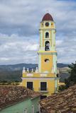 Cuba  Trinidad the Bell Tower of Iglesia Y Convento De San Francisco