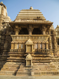 Temple of Khajuraho  Khajuraho  Madhya Pradesh  India