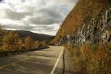 Canada  Nova Scotia  Cape Breton  Cabot Trail in Golden Fall Color
