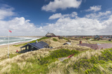 Denmark  Jutland  Klitmoller  Windsurfing Capital of Denmark  Houses in Dunes