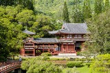 Byodo-In Temple  Valley of the Temples  Kaneohe  Oahu  Hawaii