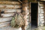 Barn Exterior  Varska  Estonia  Baltic States