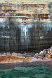 Lake Superior  Pictured Rocks National Lakeshore  Michigan