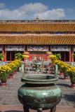 Vietnam  Hue Imperial City to Mieu Temple Complex  Exterior