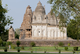 India  Khajuraho  Madhya Pradesh State Temple from the Chandella Dynasty and Grounds