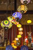Qatar  Doha  Souq Waqif  Redeveloped Bazaar Area  Traditional Lamps