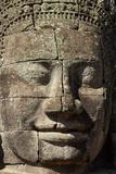 Face Thought to Depict Bodhisattva Avalokiteshvara  Angkor World Heritage Site