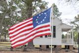South Carolina  Camden  Historic Camden  Betsy Ross Flag  Craven House