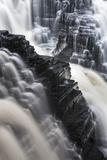 Canada  Ontario Detail of Kakabeka Falls