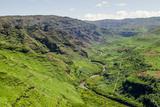 Waimea Canyon State Park  Kauai  Hawaii