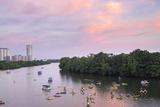 Lady Bird Lake  Austin  Texas  Usa