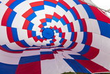 Inside an Inflating Balloon at the Albuquerque Balloon Fiesta in Albuquerque  New Mexico  Usa