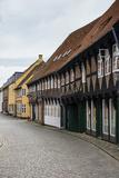 Ancient Houses in Ribe  Denmark's Oldest Surviving City  Jutland  Denmark