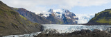 Iceland Majestic Glaciers Panoramic  Skaftafell National Park