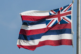 Hawaiian State Flag  Oahu  Hawaii