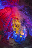 China  Guling  Multicolored Lights in the Reed Flute Cave