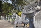 Vietnam  Hue Tomb Complex of Emperor Minh Mang