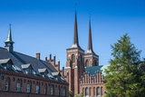 Unesco World Heritage Site the Cathedral of Roskilde  Denmark