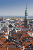 Denmark  Zealand  Copenhagen  Elevated City View